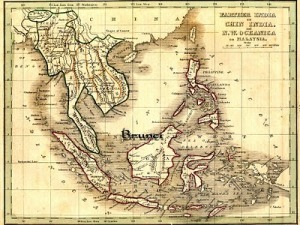 Borneo_silat suffian video map Brunei