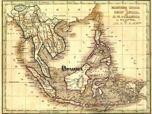 Borneo_silat suffian video map Brunei
