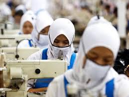 jilbab buruh
