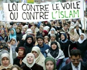 jilbab hijab-protest