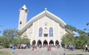 St Imaculada Conceição Church in Dili, Timor Leste.
