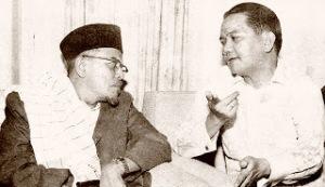 Hamka and Alamsjah Ratuperwiranegara