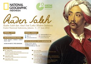 Exhibition on Raden Saleh's works organized by Goethe Institute and National Geogaphic Indonesia in Jakarta, June 2012.