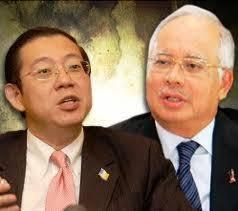 Lim Guan Eng and Najib Razak