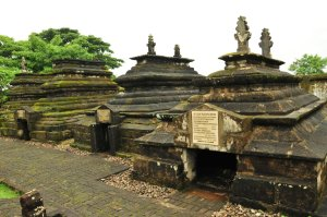 The tombs of Gowa Sultans