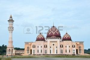 mosque-baitul-izzah-tarakan-indonesia