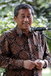 Indonesian Minister of Education Muhammad Nuh