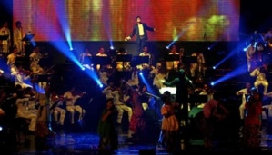 Erros Djarot 40 Years of Work Concert  held at Jakarta Convention Center.