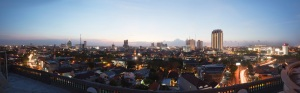Dawn in Surabaya.