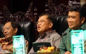 Mahfud MD, Jusuf Kalla and Rhoma Irama