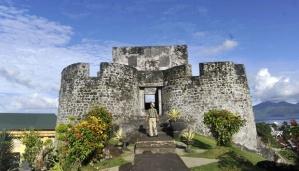 Tolukko Fort in Ternate, North Maluku, one of the province's main tourist attractions. Photo: ANTARA/Prasetyo Utomo