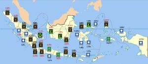 pol map Nasib Parpol Islam 2014