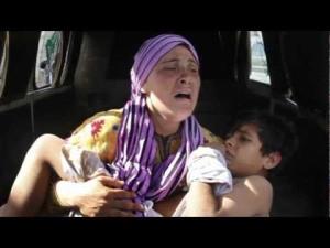 syria wom child