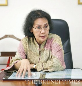 Indonesian Ambassador to Brunei  Darussalam Nurul Qomar. Photo: BT