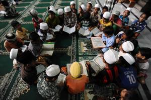 quran masjid ampel
