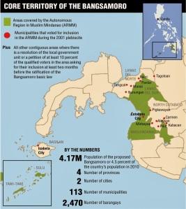 bangsamoro map