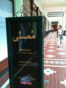 EU prayer room