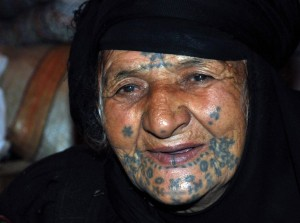 tattoo_bedouin woman Syria