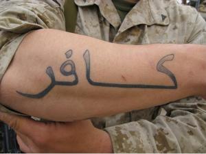 tattoos Kafir_USMC