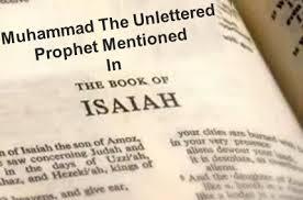 bible isaiah muhammad
