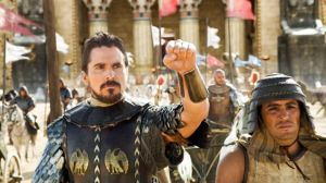Christian Bale as Moses in 'Exodus: Gods and Kings.'  Photo; 20th Century Fox