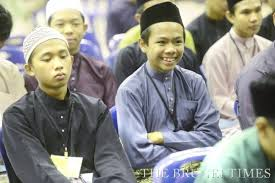 Bruneian youths attending a masjid camp programme. Photo: BT
