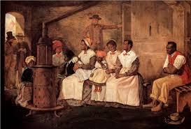 African slaves in America.