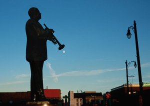 WC Handy monument in a US city.